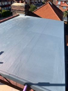 New Fibreglass Roof